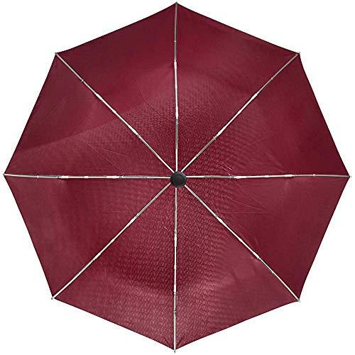 Automatisches Regenschirm-Gewebe-Beschaffenheits-Material-Reise-herkömmliches winddichtes wasserdichtes faltendes Auto-Öffnen-Schließen