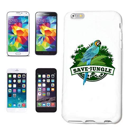 Bandenmarkt telefoonhoes compatibel met Samsung Galaxy S3 PAPAPAGEI ARA UNTERENDE jungle vogel hardcase beschermhoes mobiele telefoon cover Smart Cover