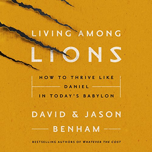 Living Among Lions audiobook cover art