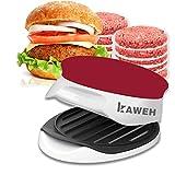 kaweh Prensa para hamburguesas, grosor ajustable, con elevador, ideal para castillos