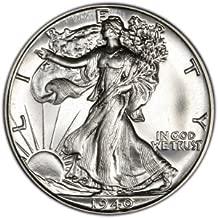 1941 Walking Liberty Half Dollar Brilliant Uncirculated 90% Silver US Coin MS/BU Fifty Cents .50