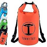 Funny Tree® Sac de séchage. (20L Orange) Étanche (IPx6), DryBag...