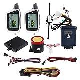 EASYGUARD EM212 2 Way Moto Sistema di Allarme con display LCD cercapersone ricaricabile trasmettitore costruito in sensore di shock e sensore a microonde rilevamento DC12V