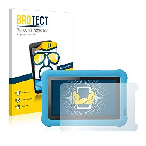 BROTECT Schutzfolie kompatibel mit Medion Lifetab Junior Tab S7322 (MD 98957) (2 Stück) klare Bildschirmschutz-Folie