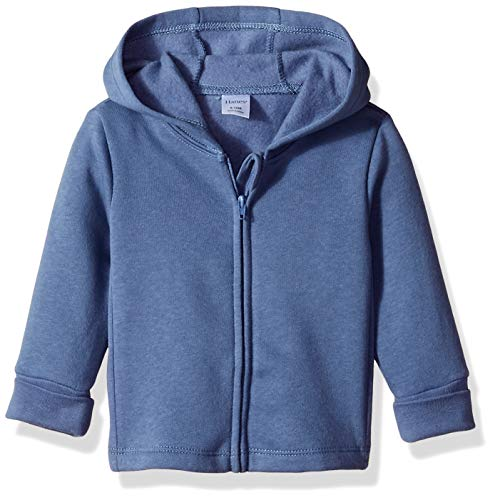 Hanes Ultimate Baby Zippin Fleece Hoodie, Dark Blue