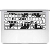 igsticker MacBook Air 13inch 2010 ~ 2017 専用 キーボード用スキンシール キートップ ステッカー A1466 A1369 Apple マックブック エア ノートパソコン アクセサリー 保護 013513 ハロウィン おばけ ゴースト
