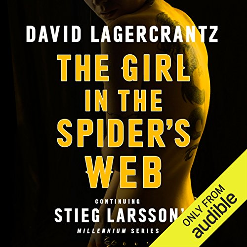 The Girl in the Spider's Web audiobook cover art