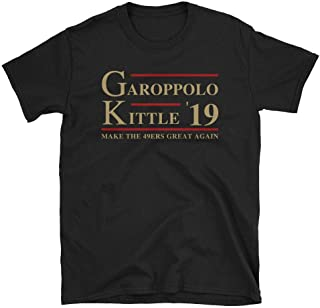 LiberTee Garoppolo Kittle Make The 49ers Great Again Tshirt for Men and Women, Funny 2019 Football Shirt for 49er Fans