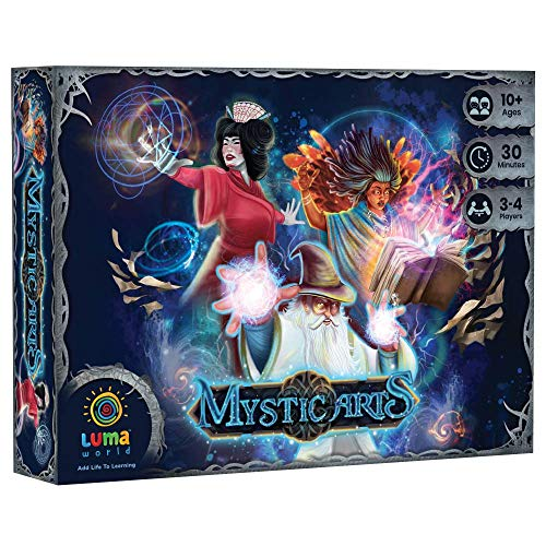 Luma World Strategy Card Game for Ages 10 and Up: Mystic Arts | Innovative Tabletop Game to Learn Measurements & Conversion of Units | Magical Ingredient Cards, Spell Cards and Potion Cards (82 Cards)