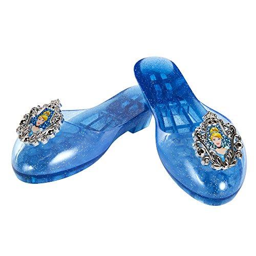 Disney Princess Cinderella Jelly Shoes, Size: 9-11, [Amazon Exclusive]