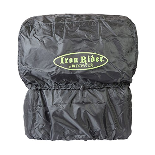 Buy Dowco Iron Rider 50125-00 Water Resistant Reflective Reinforced Motorcycle Main Bag: Black, 35 L...