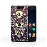 Stuff4 Hülle/Case für Xiaomi Mi5/Mi 5 / Wolf-Purpur