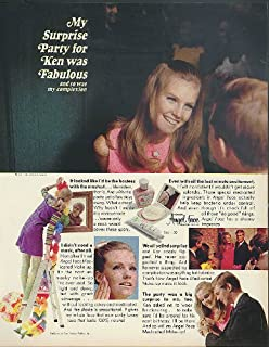 My Surprise Party was Fabulous Cheryl Tiegs for Pond's Angel Face ad 1967