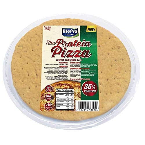 Base Pizza Proteica 250g | Con 34,6% de Proteína | Masa de pizza saludable | Diet Pizza ⭐