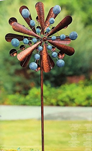 Reversible Extra Large Wind Spinner Catcher 23' Wide, 83' High Weather Resistant Finish
