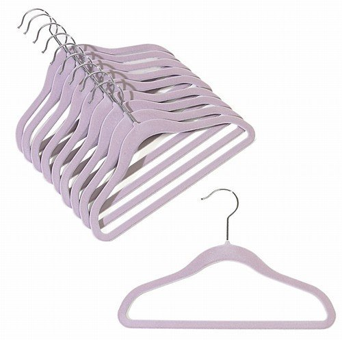 12' Childrens Lavender Slim-Line Hanger