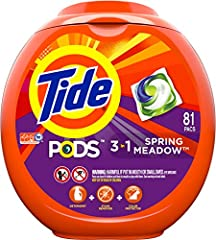 Tide PODS consist of up to 90% active ingredients, so you can be sure that you're paying for clean not for water 10x the cleaning power* (*Stain Removal of 1 dose vs. 10X doses of the leading liquid bargain brand) Reveal our brightest clean yet for b...