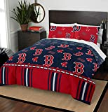 The Northwest Company MLB Boston Red Sox Full Bed in a Bag Complete Bedding Set #486358546