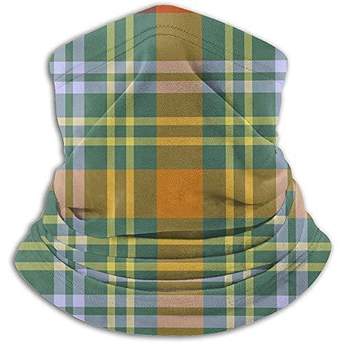 Archiba Halswärmer Gamasche Kopfbedeckung Multifunktionales Kopftuch - Buntes Plaid O 'Brien Tartan Gedruckt