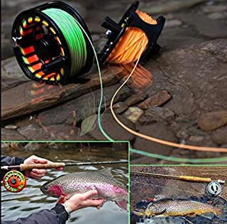 8F Fly Line 100FT Weight Forward Nymph Floating Fly Fishing Rod 4 Colors Polyethylene Fly Fishing Cord