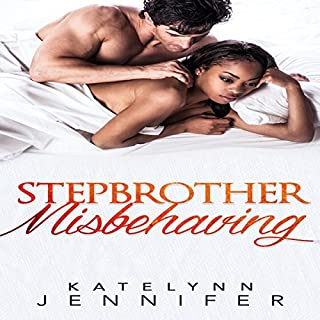 Stepbrother Misbehaving audiobook cover art