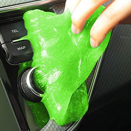 Zxcvbnm Auto Cleaner Lijm Panel Air Vent Outlet Dashboard Laptop Home Magic Cleaning Tool Modder Remover Auto Gap Stofzuiger Vuil