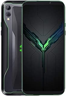 XIAOMI SKW-HO Shark 2 Liquid Cooled Gaming Phone Dual Sim - 128GB, 8GB RAM, 4G LTE, Shadow Black + Game Pad