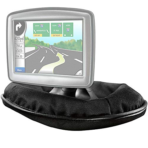Deco Gear GPS Dashboard Mount for Garmin, Tomtom, Magellan and Other Portable GPS Navigators - Weighted Dash Mount