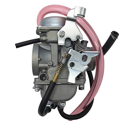 liutao Carburador Carburador Compatible con Kawasaki KLF300 KLF 300 1986-1995 1996-2005 Compatible con Bayou Querby Carbo ATV 32mm Partes del Motor