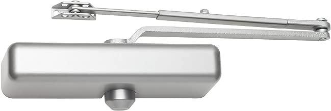 FALCON SC61 Rw/PA Alum Slim Door Closer, Regular Arm with Parallel Arm Shoe, Slim Cover, Aluminum Finish