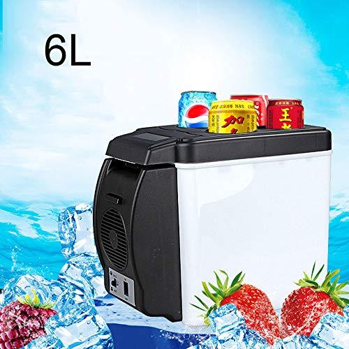 6L Auto Koelkast, Mini Koelkast 12V Auto Koeler Warmer 6L Koelkast Draagbare Reis Koelkast Koelbox