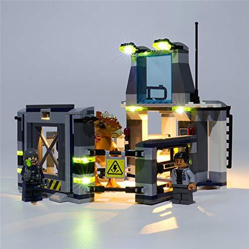 Juego de iluminación USB para Lego 75927 Jurassic World Stygimoloch Breakout, Juego de Luces LED Compatible con Lego 75927 para Juguetes educativos para niños (no Incluye el Modelo)