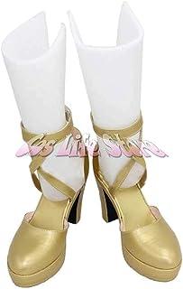 覚醒 サーリャ 風 コスプレ靴/ブーツ コスプレ衣装 オーダーサイズ製作可能