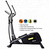 Reach Elliptical Cross Trainer Machine for Cardio Fitness Strength Workout at Home (Multi-color)