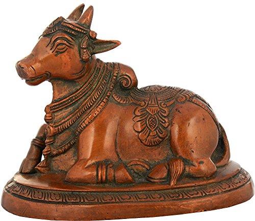 Exotic India Nandithe Vehicle of Lord Shiva - Estatua de la Shiva, 8,9 x 14,9 x 10,9 cm