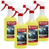 Brestol Insektenentferner 4X 750 ml gebrauchsfertig - Insektenlöser Polycarbonat geeigneter