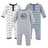 Hudson Baby Unisex Baby Cotton Coveralls, Aviation, 3-6 Months