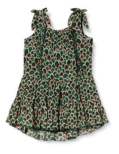Scotch & Soda R´Belle Mädchen Chiffonkleid mit Print Kleid, Mehrfarbig (Combo F 0222), 140 (Herstellergröße: 10)