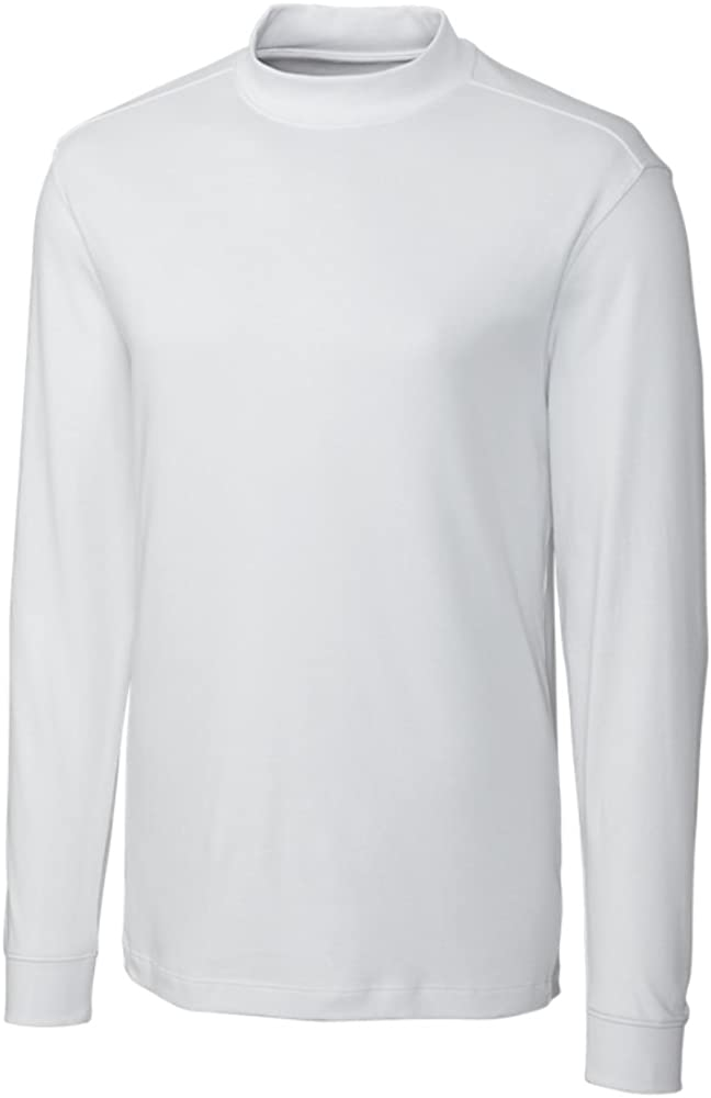 Cutter & Buck Men's Big And Tall Classic Pullover Shirt, White, XXX-Large Tall