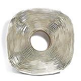 Rouleau de ruban adhésif butyle de marque Harbre extra long Épaisseur 3 mm x Largueur 25 mm x Longueur 12 m Ruban adhésif de...