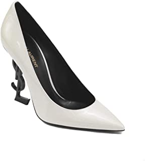 Women's Patent Leather Opyum High Heel Pump Shoes White