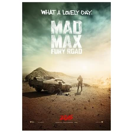 Inch Mad Max Fury Road Tom Hardy Classic Action Movie Poster Various Sizes