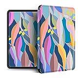 Funda para Kindle Paperwhite,Compatible con Kindle Paperwhite 4 Carcasa Trasera para Kindel Paperwhite 2019 Auto Sleep/Wake Smart Cover Impresión De Mimbre Abstracto, para No.Pq94Wif