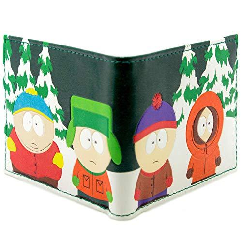 Comedy South Park Kyle Kenny Stan Cartman Grün Portemonnaie Geldbörse