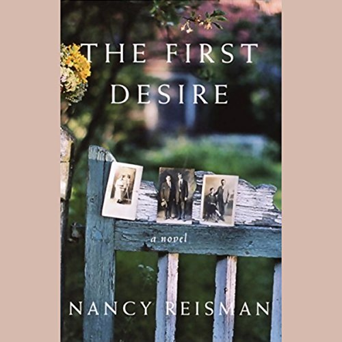 The First Desire audiobook cover art