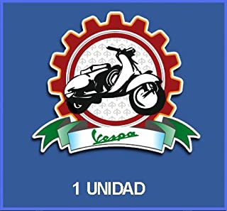Dp125 Aufkleber Autocollants Adesivi Moto Decals Motorbike 10 cm Ecoshirt PP-LXEL-OPVL Pegatinas Stickers Vespa Ref