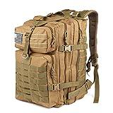 Roaring Fire Tattico Zaino Army Assault Pack, Zaino Molle per la confezione da 3 giorni, borsa Bug...