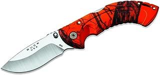 Buck Knives 395 Omni Hunter 10pt Folding Knife with Heavy-Duty Nylon Sheath
