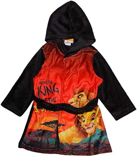 Disney The Lion King - Albornoz con capucha de forro polar
