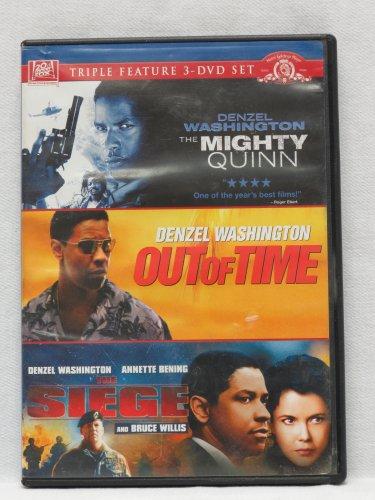 Denzel Washington Triple Feature 3-dvd Set